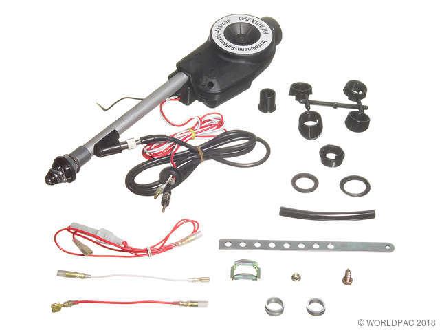 ES#1948980 - W01331617538 - Antenna - Power - Chrome - Power Antenna - Chrome - Hirschmann - Porsche