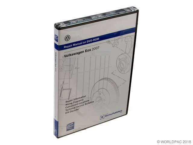 ES#2004487 - V1F6 - Eos (07-09) Service Manual - CD/DVD - The most comprehensive repair manual - Bentley -