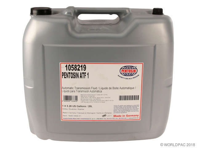 ES#2221649 - 00004320700 - Tiptronic Transmission Fluid - ATF1 - 20 Liter - Pentosin - Porsche